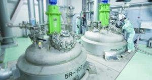 原薬・中間体の受託合成|少量からコマーシャル製造のGMP・FDA対応設備